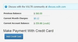 How to use Giftcode 10 USD Free at VULTR